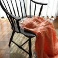 肘付き椅子